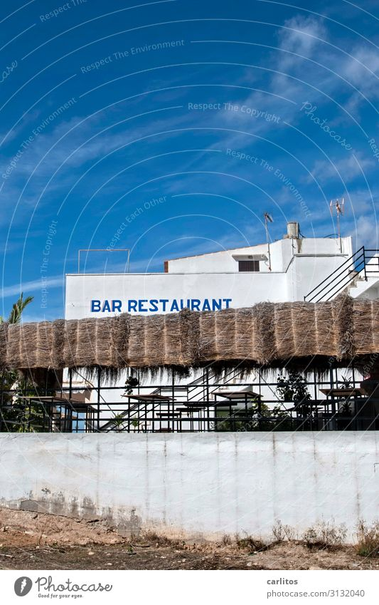 Vacation & Travel Relaxation Tourism Restaurant Bar Majorca Balearic Islands