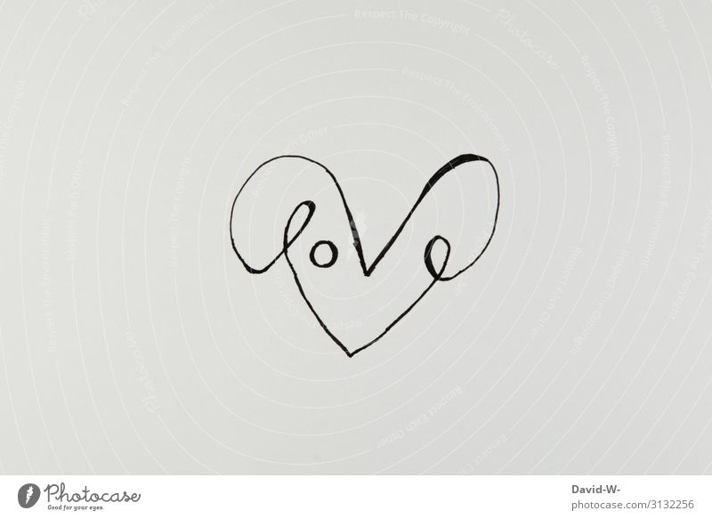 Love heart lettering Heart Drawing Creativity creatively Art manner visualization Valentine's Day Sincere Word Wordplay pun Emotions Deserted Romance