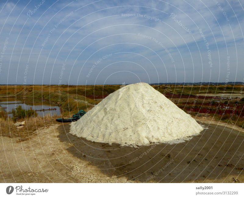 ...vital... Salt... salt extraction sea salt France seasoning mountain White precious Food Herbs and spices Healthy Nutrition