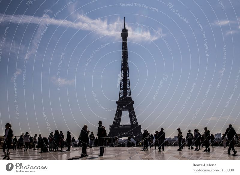tourist magnet Vacation & Travel Tourism Far-off places Sightseeing City trip Paris France Europe Capital city Places Tower Manmade structures Architecture