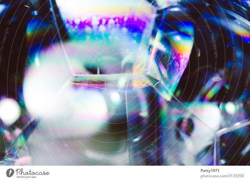 soap bubble / foam Science & Research interference colours Physics Soap bubble Foam Surface tension Fluid Multicoloured Bizarre Complex Background picture