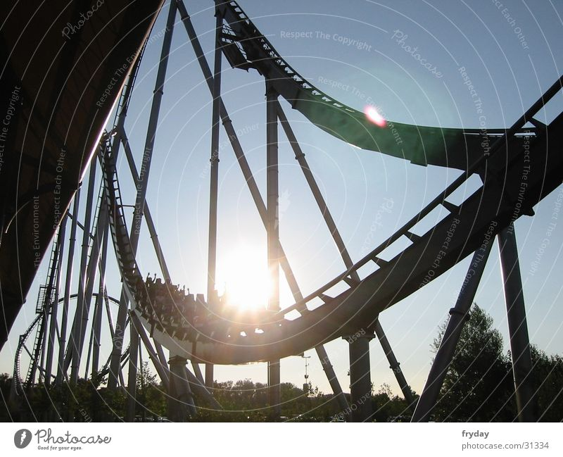 Silver Star II Roller coaster Europa-Park Rust Acceleration Back-light Leisure and hobbies speedcoaster Joy Thrill