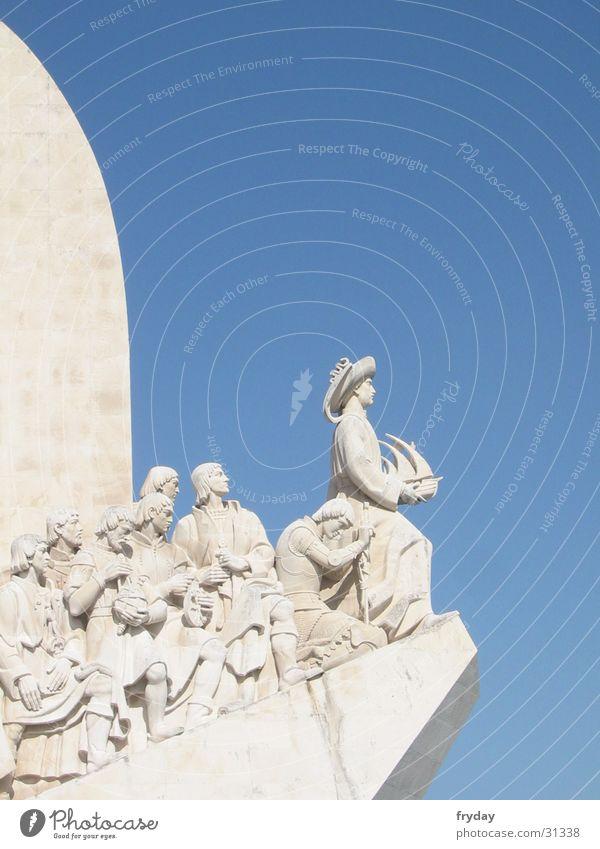 ahoy Portugal Lisbon Belém Padrão dos Descobrimentos Seaman Monument Europe