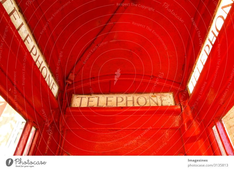 "phone booth Telephone Technology Telecommunications Architecture Phone box Original Retro Red Communicate Tourism Tradition Change ""close-up Classic English K6"