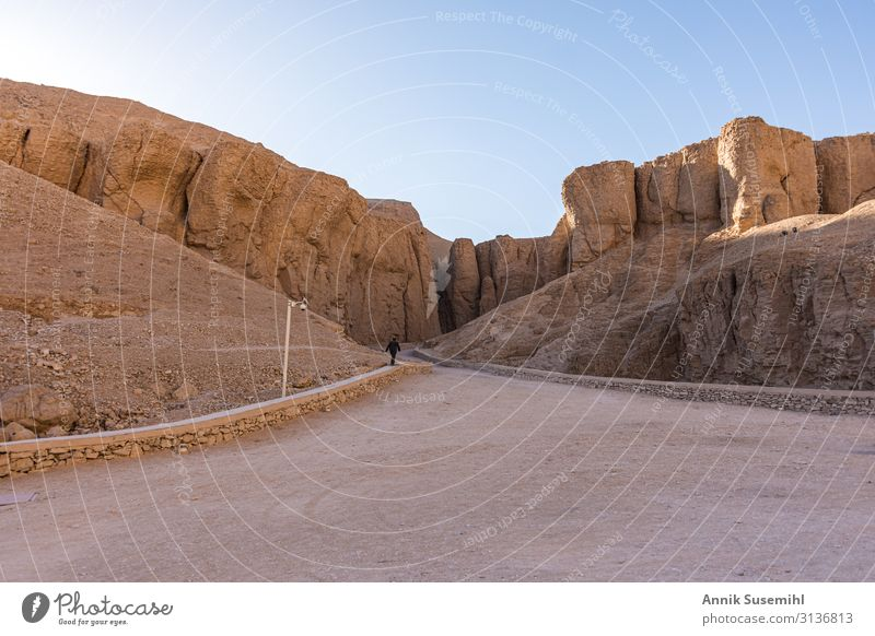 Kings Valley in Luxor, Upper Egypt Vacation & Travel Tourism Sightseeing Expedition Wall (barrier) Wall (building) Mysterious Tradition Africa afterlife amon