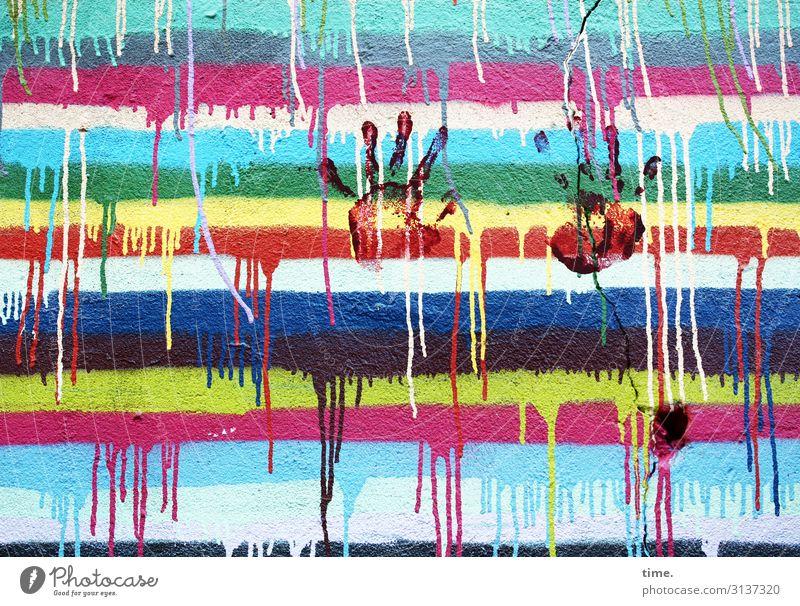 Colour Hand Wood Life Graffiti Wall (building) Dye Art Wall (barrier) Wild Line Communicate Creativity Joie de vivre (Vitality) Idea Discover