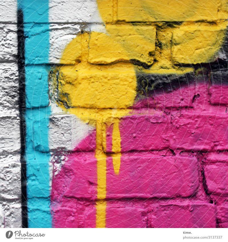 Town Colour Red Life Yellow Wall (building) Dye Art Wall (barrier) Facade Line Creativity Joie de vivre (Vitality) Transience Idea Stripe