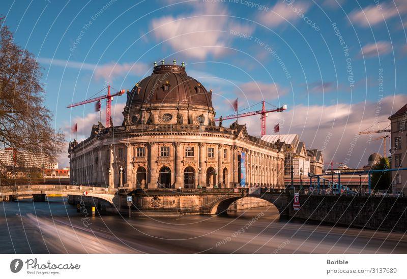 Fast forward Berlin Art Exhibition Museum Architecture Culture Water Town Capital city Bridge Manmade structures Building Tourist Attraction Landmark
