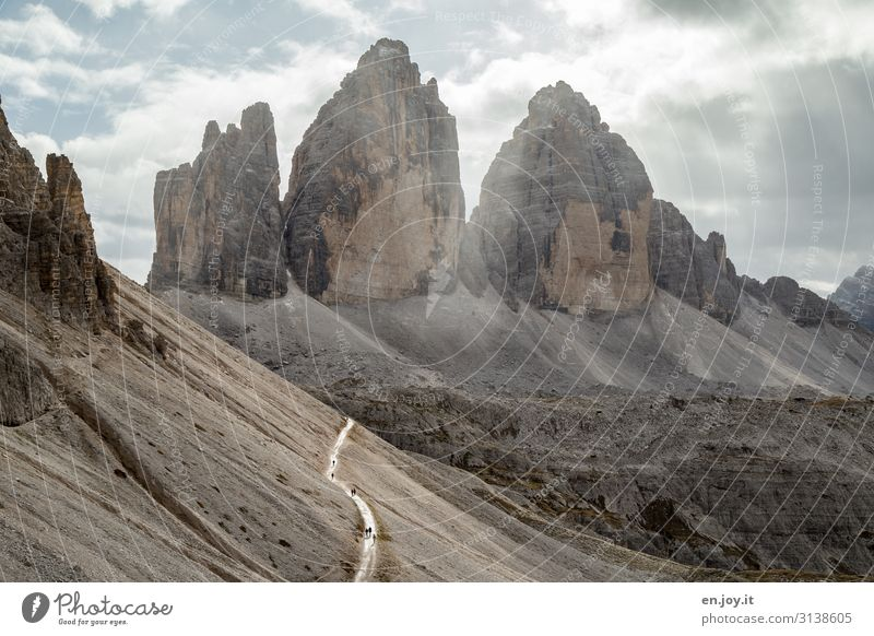all roads lead to Rome? Vacation & Travel Tourism Trip Adventure Expedition Mountain Hiking Nature Landscape Clouds Climate Climate change Weather Rock Alps