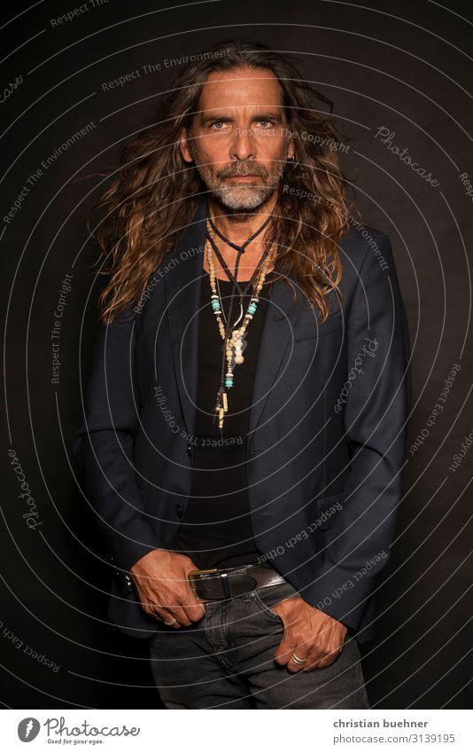 Human being Man Beautiful Eroticism Adults Love Art Fashion Design Elegant Power 45 - 60 years Esthetic Success Adventure Energy
