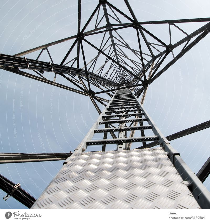 Cervical spine training (VIII) Services Energy industry Technology Electricity pylon Sky Beautiful weather Tower Manmade structures Building Architecture Metal