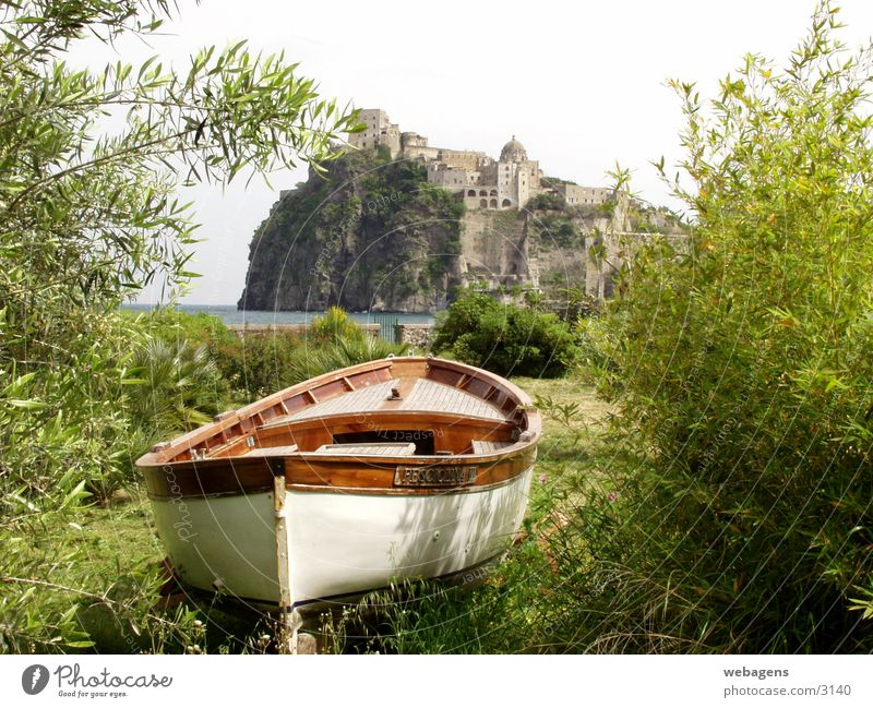 Ischia Porto Boat Watercraft