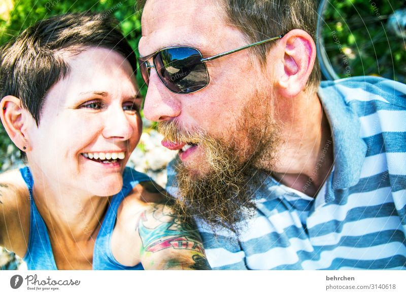 so some FIRLEFANZ Human being Woman Adults Man Family & Relations Couple Partner Hair and hairstyles Face Eyes Ear Nose Mouth Lips Teeth Facial hair
