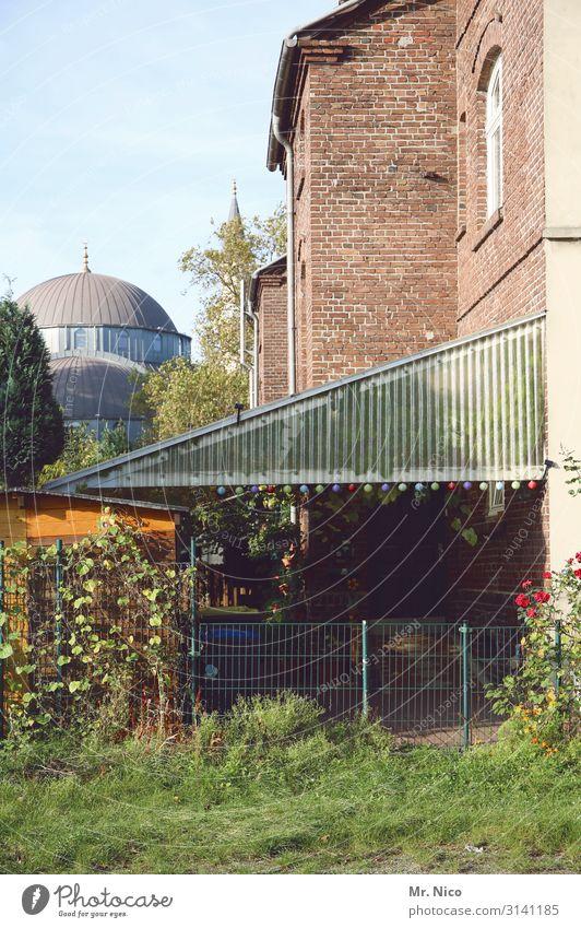 on good neighbourliness Environment Town House (Residential Structure) Garden Hospitality Belief Mosque Backyard Duisburg The Ruhr Islam Idyll Landmark