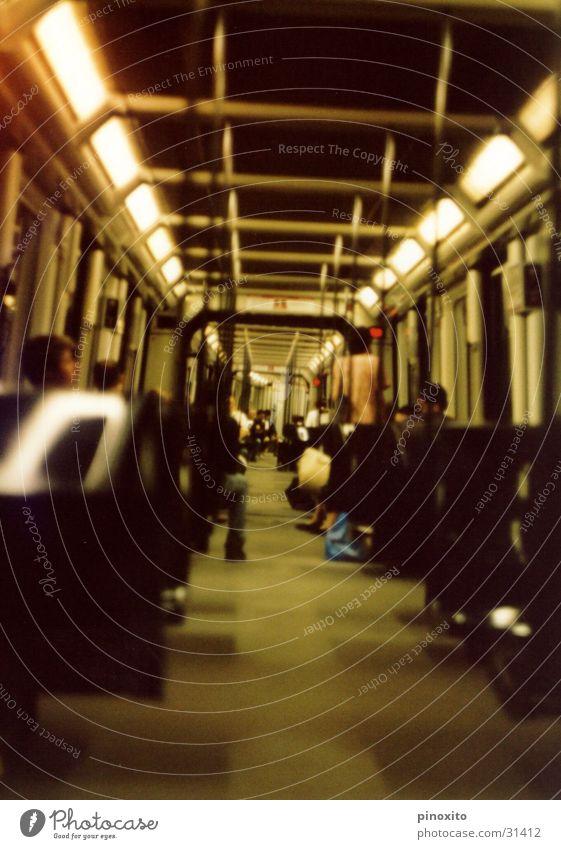 Human being Vacation & Travel Europe Underground Barcelona London Underground