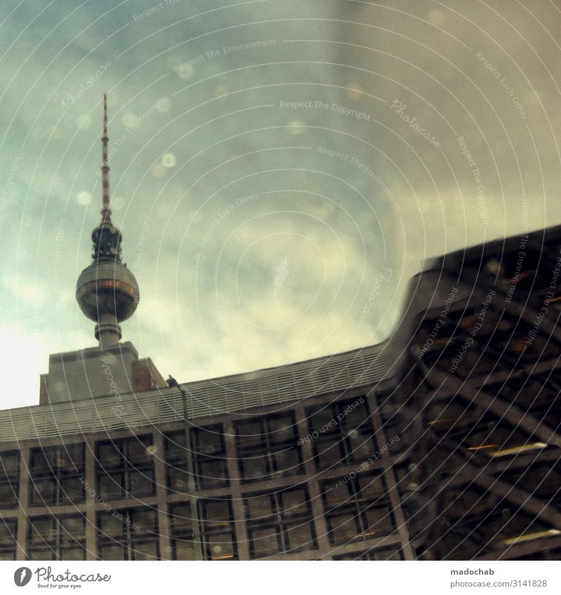 Planetarium - Television Tower Berlin Place of Interest Climate Climate change Small Town Capital city Downtown Deserted Manmade structures Building