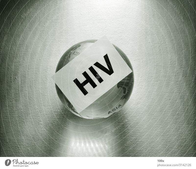 HIV tag with Globe Health care Medical treatment Illness Medication Science & Research Laboratory Examinations and Tests Hospital Technology Human being Tube