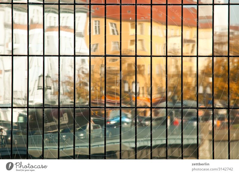 Reflecting facade Architecture Berlin Charlottenburg Office City Germany Capital city House (Residential Structure) Sky Heaven High-rise Downtown