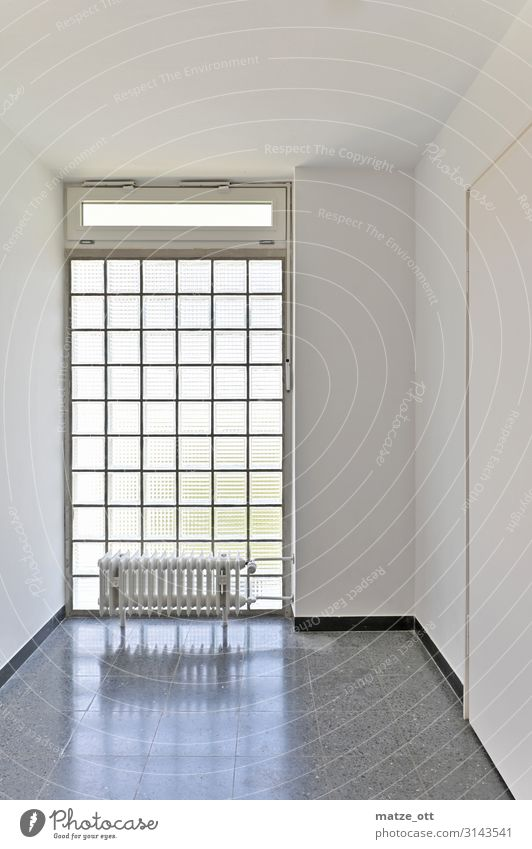 White House (Residential Structure) Calm Window Architecture Interior design Wall (building) Cold Building Wall (barrier) Design Flat (apartment) Bright Door