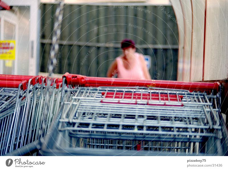 saturday shoppette Shopping Supermarket Woman Shopping Trolley Store premises Consumption customer