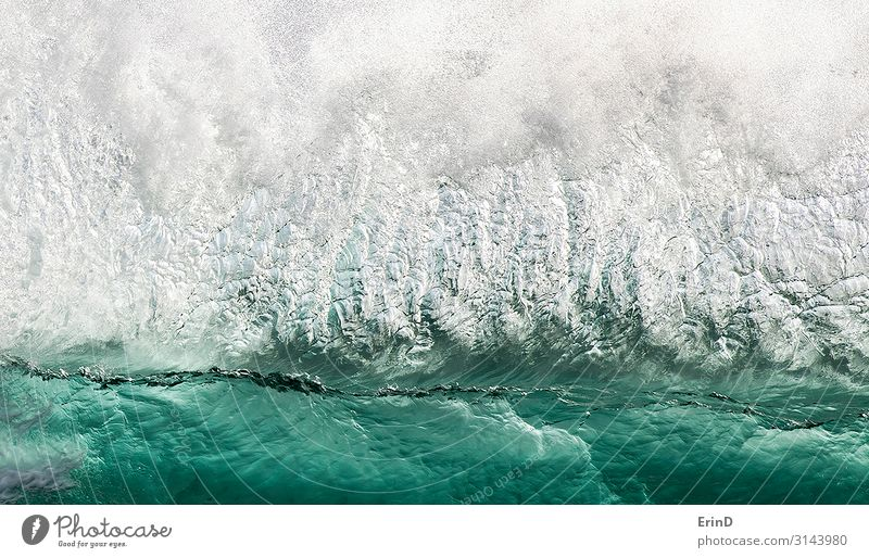 Wall of Water in Green and White as Wave Breaks Beautiful Relaxation Playing Vacation & Travel Adventure Ocean Wallpaper Environment Nature Landscape Coast Blue