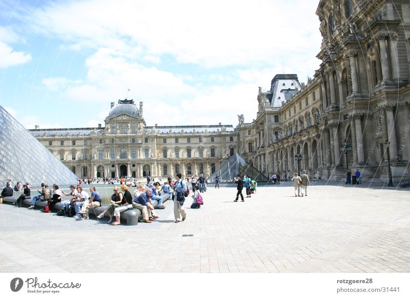 Louvre/Paris Art Europe Tourist Attraction Architecture