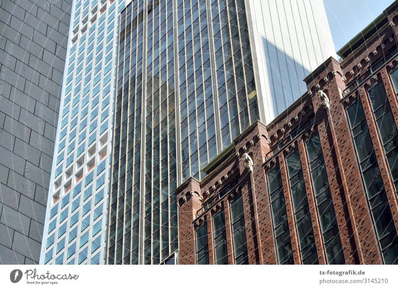 Facades without climbers Luxury Vacation & Travel Tourism City trip New York City USA Downtown Skyline Deserted House (Residential Structure) High-rise