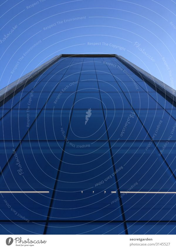 high this year Architecture architectonically architectural photography Facade Glas facade Glass Window Building Reflection High-rise Abstract Office building