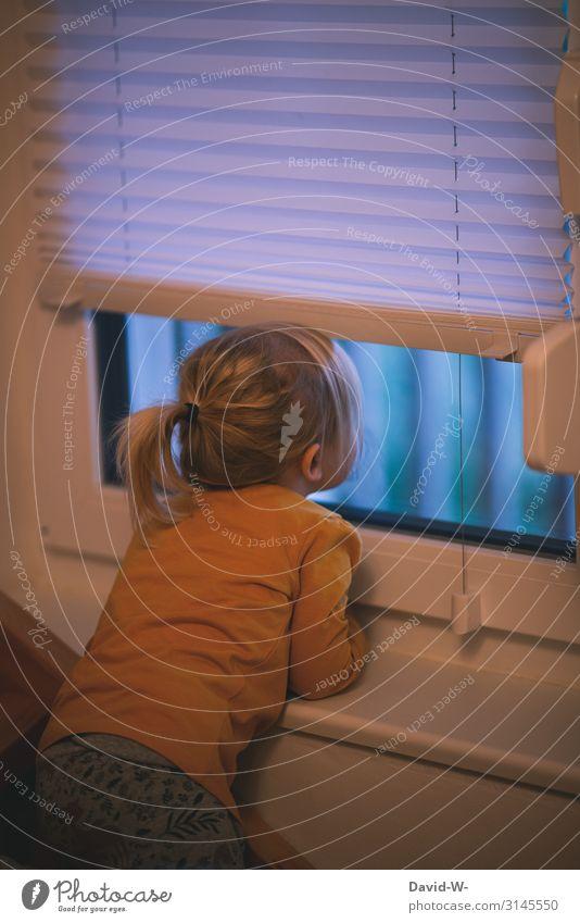 Child Human being Christmas & Advent Girl Window Lifestyle Sadness Feminine Art Head Infancy Wait Cute Observe Curiosity
