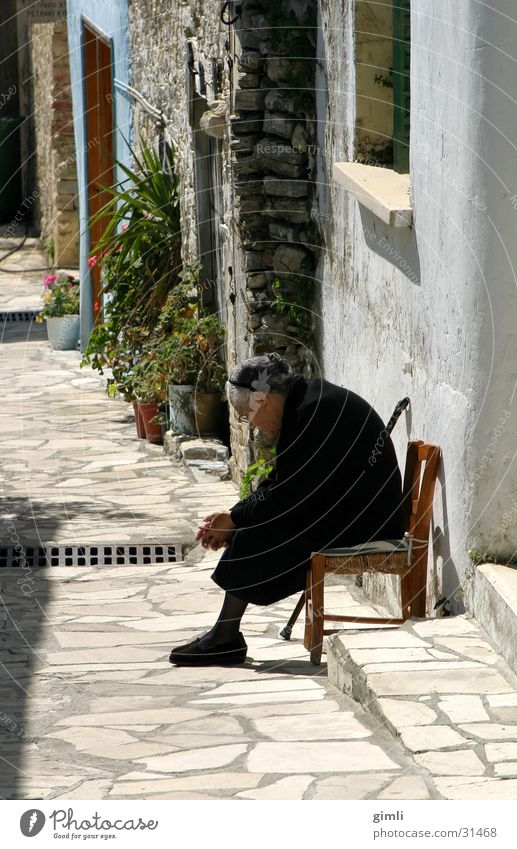 the old lady from Lefkara Woman 2004-04 Cyprus