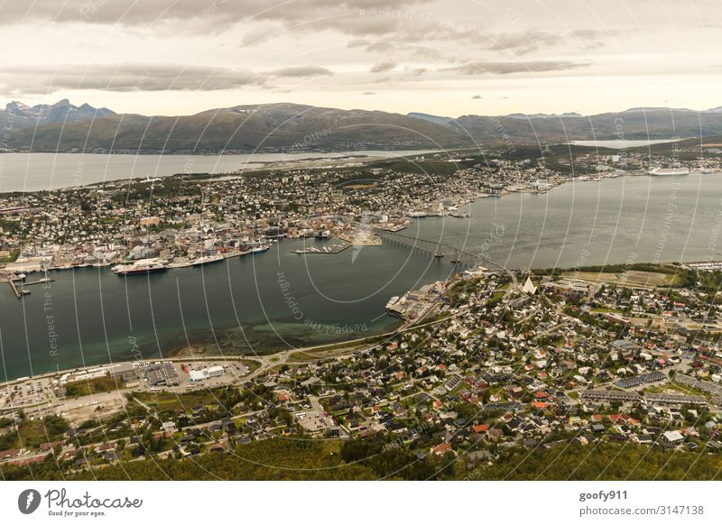 Tromsö (Norway) Vacation & Travel Tourism Trip Adventure Far-off places Freedom Sightseeing City trip Expedition Nature Landscape Sky Clouds Horizon