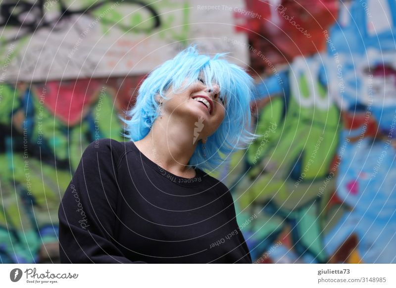 Woman Human being Joy Adults Life Love Movement Laughter Happy Exceptional Freedom Smiling 45 - 60 years Crazy Dance Uniqueness