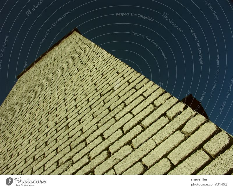 The Wall Wall (building) Brick House (Residential Structure) Building Architecture Sky