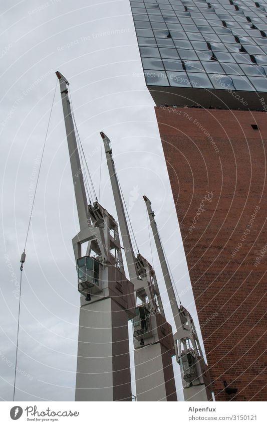 Technology Industry Hamburg Harbour Crane Port City Dockside crane Port of Hamburg