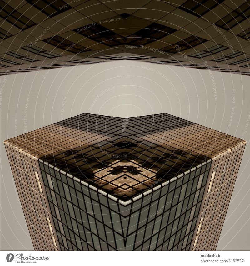 The Cube Science & Research Advancement Future High-tech Energy crisis Astronautics High-rise Bank building Manmade structures Building Architecture