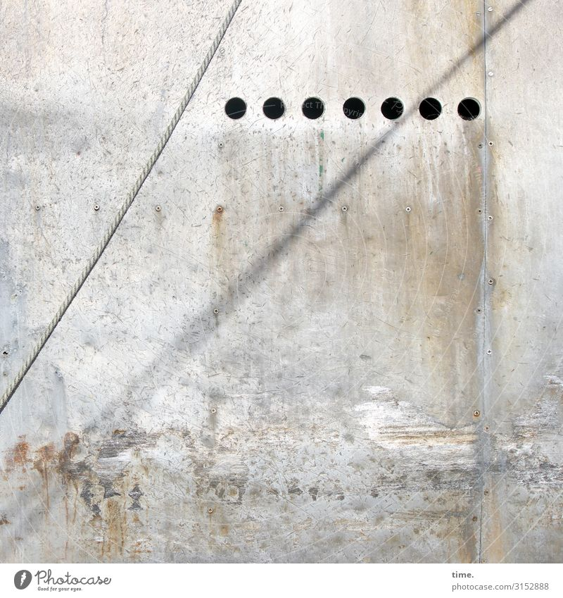 /°°°°°°° Wall (barrier) Wall (building) Navigation Rope Hollow Stone Concrete Line Bright Trashy Gloomy Relationship Design Discover Inspiration Communicate