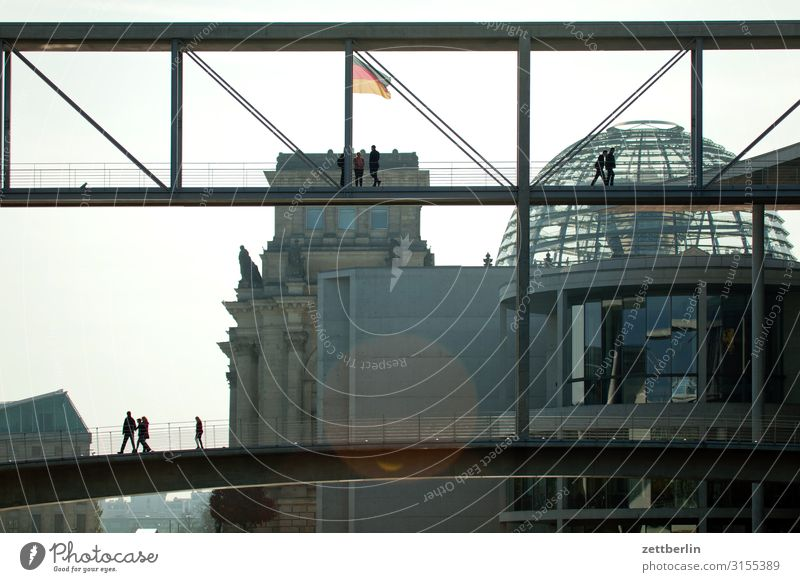 seat of government Architecture Berlin Reichstag Germany German Flag Dark Twilight Capital city Federal Chancellery Night Parliament Government