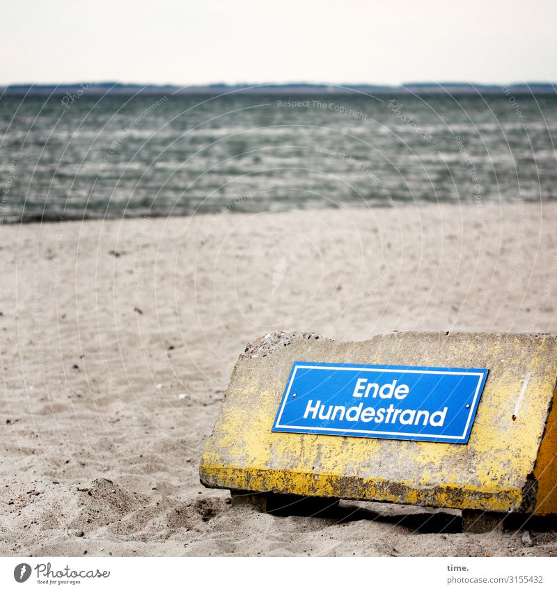 Beach Coast Sand Design Horizon Waves Characters Communicate Signs and labeling Signage Help Concrete Discover Information Education Baltic Sea