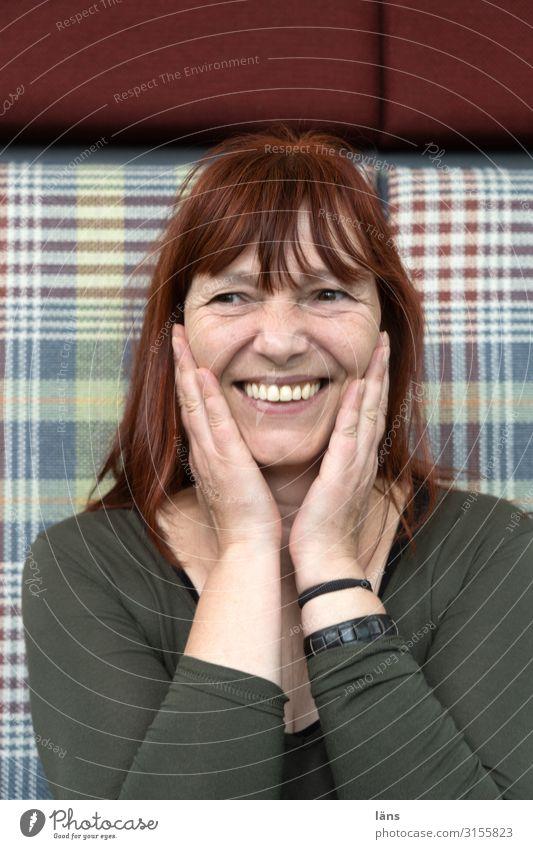Woman Joy Laughter Happy Hamburg Friendliness