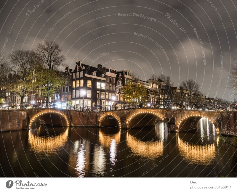 Amsterdam Vacation & Travel Tourism Trip Sightseeing City trip Cycling Water Netherlands Europe Capital city Downtown Old town House (Residential Structure)