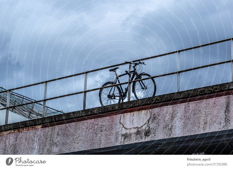 Blue Town Clouds Dark Black Life Environment Sports Movement Brown Gray Adventure Cycling Fitness Driving Hip & trendy