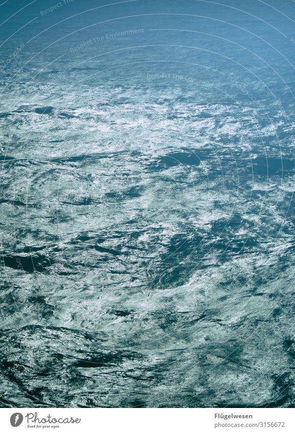 Waterworld Ocean seascape Waves Swell Wavy line Wave action ocean