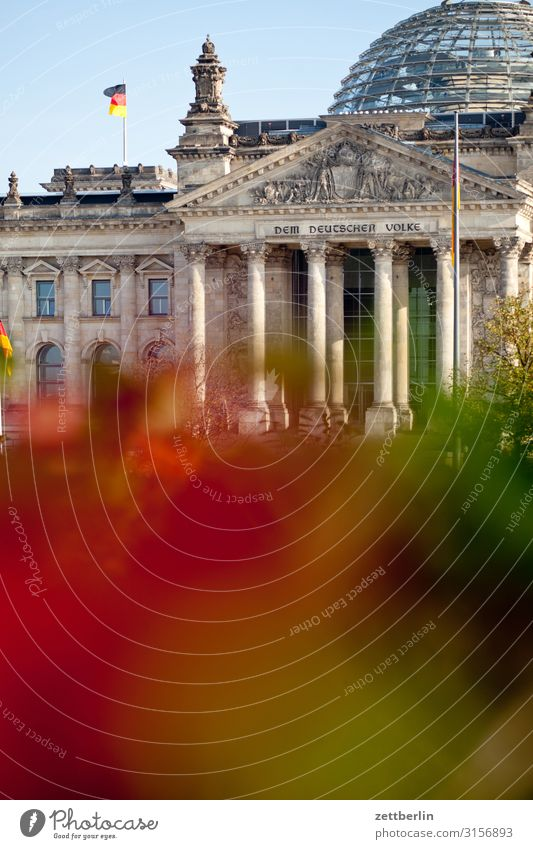 German Bundestag Architecture Berlin Reichstag Germany German Flag Capital city Parliament Government Seat of government Government Palace Spree Spreebogen