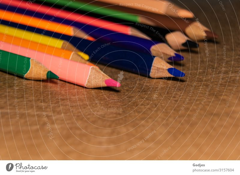 Blue Green Red Yellow Orange Brown Pink Uniqueness Violet Draw Pen Piece of paper Expectation Stationery Crayon