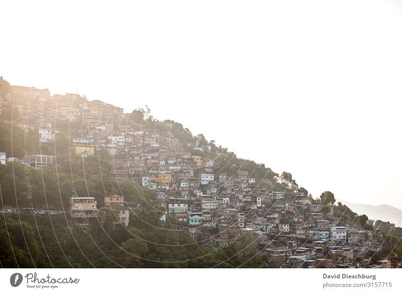 favela Vacation & Travel Tourism Sightseeing City trip Town Outskirts Overpopulated House (Residential Structure) Hut Poverty Testing & Control Growth Change