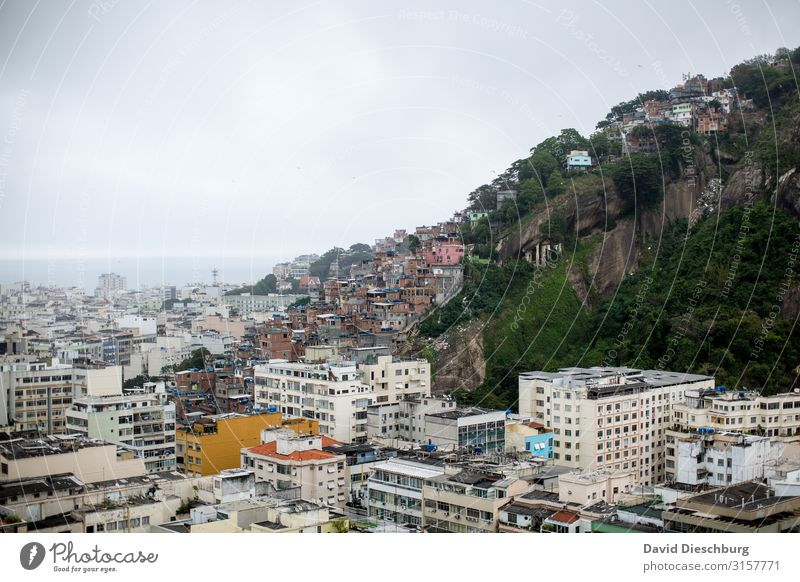 favela Vacation & Travel Tourism Sightseeing City trip Clouds Hill Town Downtown Outskirts Overpopulated House (Residential Structure) Detached house High-rise