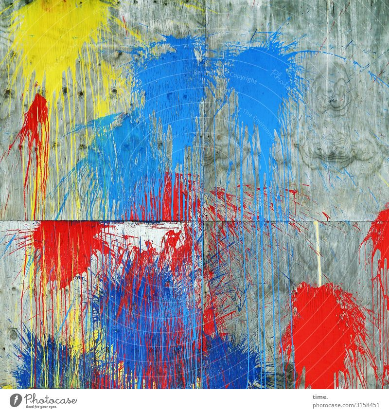 Blue Town Colour Red Life Yellow Wall (building) Dye Wall (barrier) Stone Together Gray Moody Design Wild Line