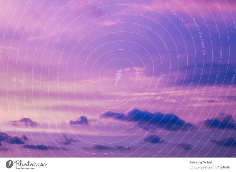 Incredible beautiful cloud formations and colors in the sky, sunset. abstract backdrop background beauty bright clouds cloudy colorful dawn dramatic evening