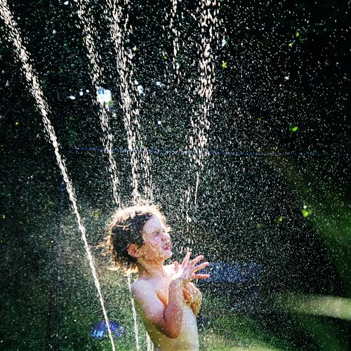 it smells like... | summerfeeling Child Boy (child) Portrait photograph Playing Happiness Happy Infancy Joy Laughter Summer Water bathe Romp fortunate