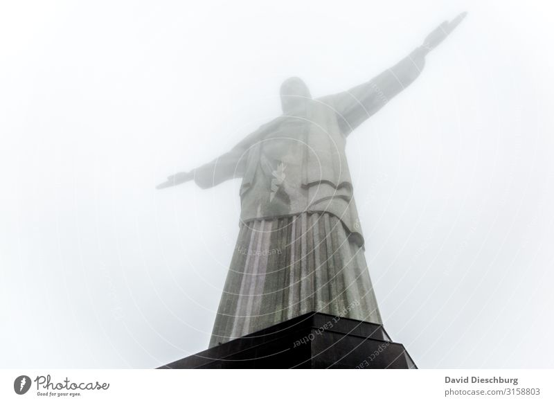 Vacation & Travel Town Clouds Religion and faith Tourism Stone Trip Fog Tourist Attraction Landmark Manmade structures City trip Monument Sightseeing Statue